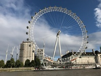 The London Eye.  Was erected for the millennium and was to remain for five