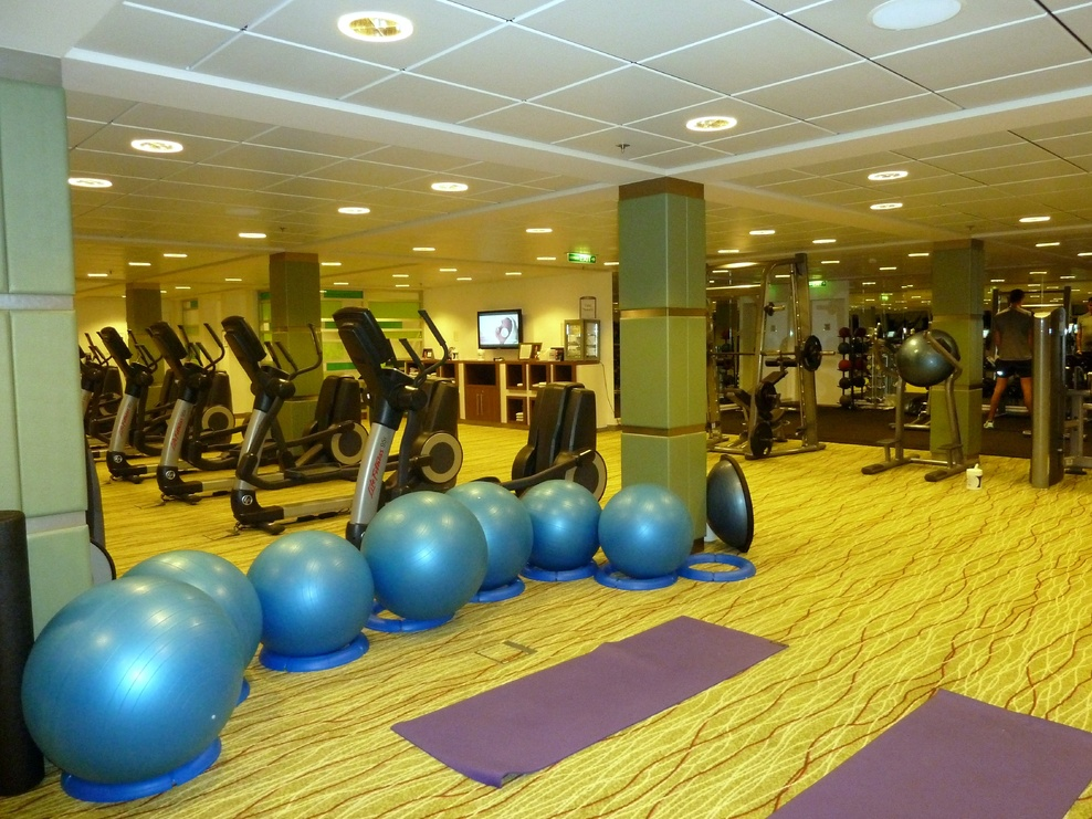 Part of the Fitness center
