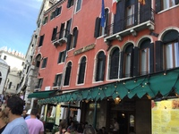 Snap of hotel in Venice