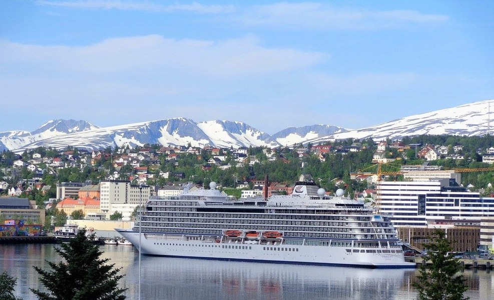 The Viking Sky in Bergen, Norway