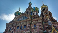 Church of Our Savor on Spilled Blood, St. Petersburg, Russia