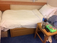 This is the size of the 3rd 'bed' 60 inches long.