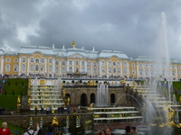 The fountains of Peterhof's Palace, Saint Petersburg