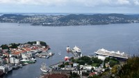 View from Floybahn in Bergen