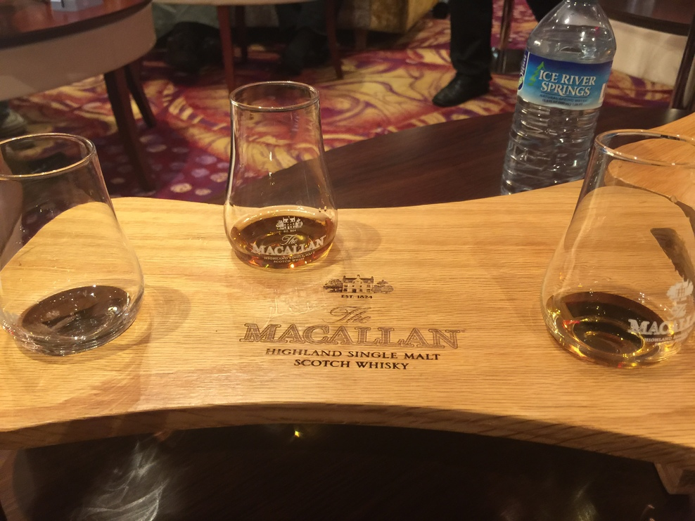 Great Macallan tasting seminar in the R Bar