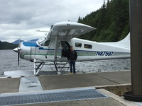 Crab feast & float plane.