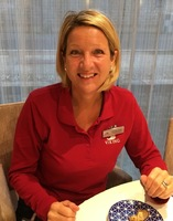 Christine Couper, our wonderful cruise director