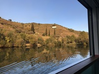Douro river, view from cabin balcony