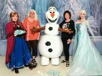 We pre-ordered tickets to Meet The Frozen Characters.  The tickets were in