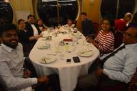 Enjoying a Lovely Dinner with Family and Friends at the Edelweiss Restauran