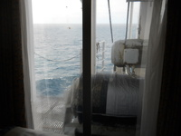 This is the G Cat. cabin. Not that bad a view!
