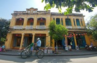 Hoi An old city. Wished we had more time!