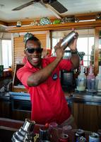 Best bartender on the ship - Luther - Rum Runner Bar on Deck 9 midship