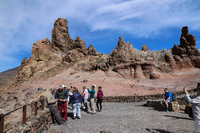 Coach excursion to the Mt Tiede National Park in Tenerife.