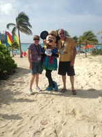 Castaway Cay with Minnie