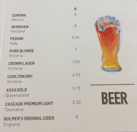 Beer prices