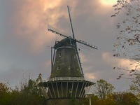A windmill in old Amsterdam...