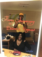 Our 15 year Anniversary, coming back from Amber Cove in The Dominican republic during the day now getting ready to get dressed for the evening to celebrate in the restaurant getting ready to change for  Club also!!! Big Fun!! Great Black Love ❤️ May God Bless us with Many Loving More