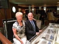 Richard Pucci a wonerful pianist with Gloria in the Cove bar