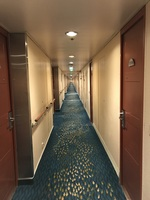 Endless hallway of Deck 8