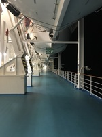 Jogging trail on Deck 6