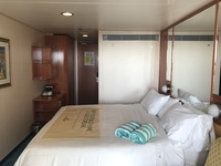 Interior of stateroom 8220