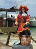 Captain Morgan in Aruba