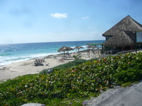 Southeastern shore of Cozumel