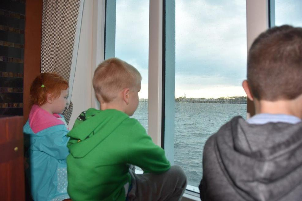 Their first cruise