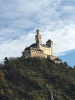 One of the gorgeous castles on the River Rhine Cruise.