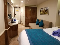 My cabin.....clean, spacious and beautiful, well priced too!!!!