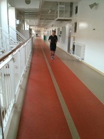 Jogging track on Norwegian Epic