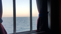 The bigger window in our room was so good.  Gave us a feeling of being one