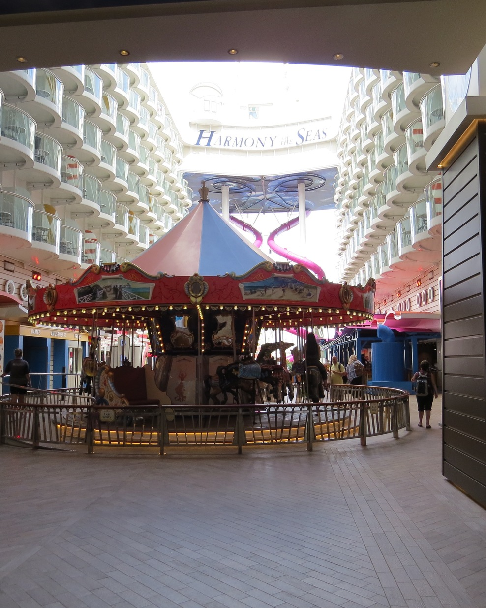 Carousel in the Boardwalk area.