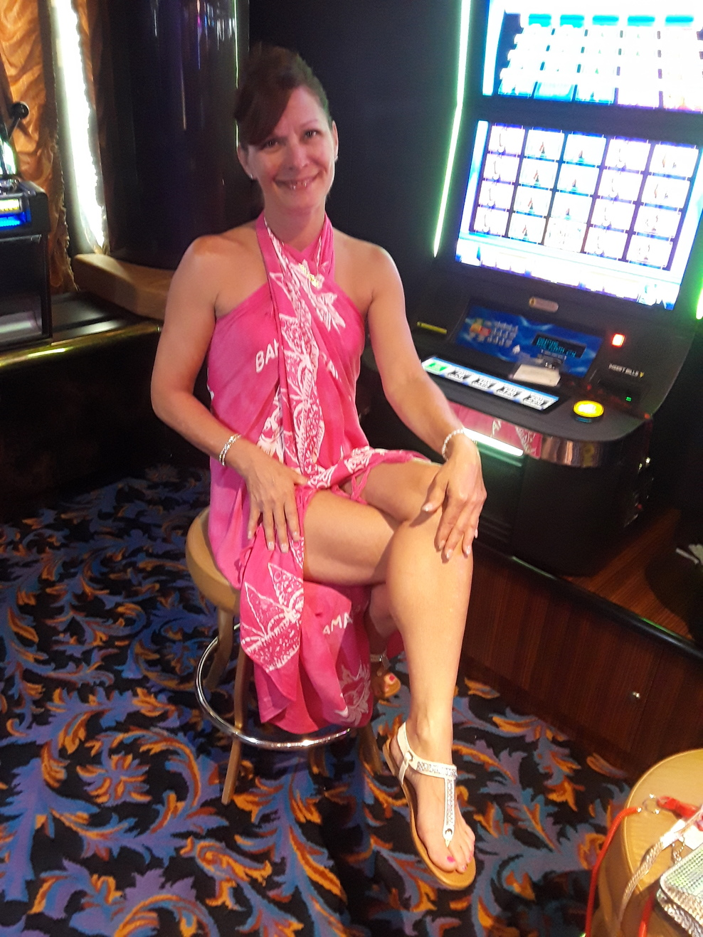 I spent more time in the casino waiting for contests.