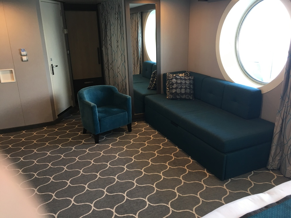 Cruise Pull Out Couch Bed: Cabin On Royal Caribbean Harmony Of The Seas Cruise Ship