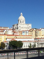 Lisbon from the ship