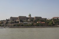 View from the top deck in Budapest