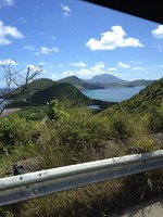 The scenery on St. Kitts, one of the most beautiful places I've ever se