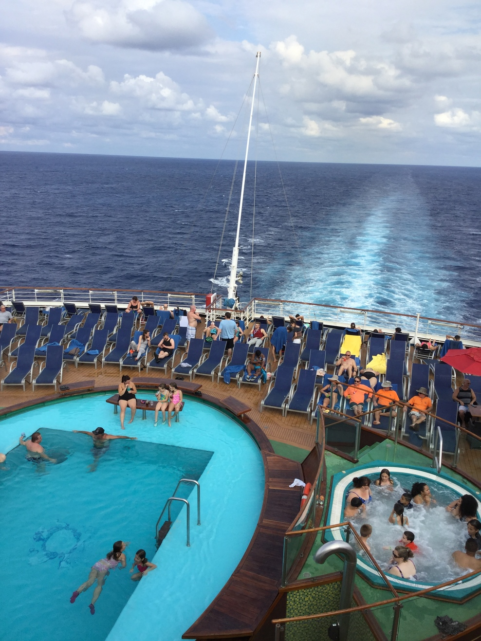 Pool Spa Fitness On Carnival Magic Cruise Ship Cruise
