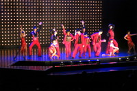 Royal caribbean Singers and Dansers production show