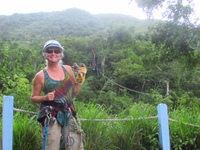 Great zip line experience through the rainforest.