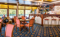 One of the bars. This one at the bow was hugely popular d/t the wireless ro