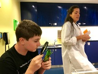 Family Science Activity on board the ship