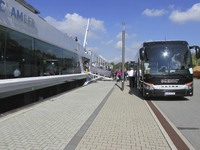 Bus from Prague to embarkation