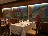 Private dining room in Palo (a busy night in Palo and several tables were s