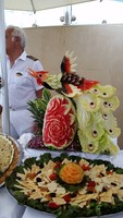 amazing food art by the chefs