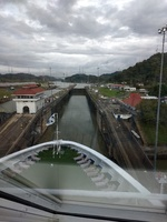 Entering one of the locks