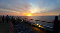 Deck 9 sunset