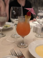 Carnival Elation - Drink of the day at Imagination Restaurant